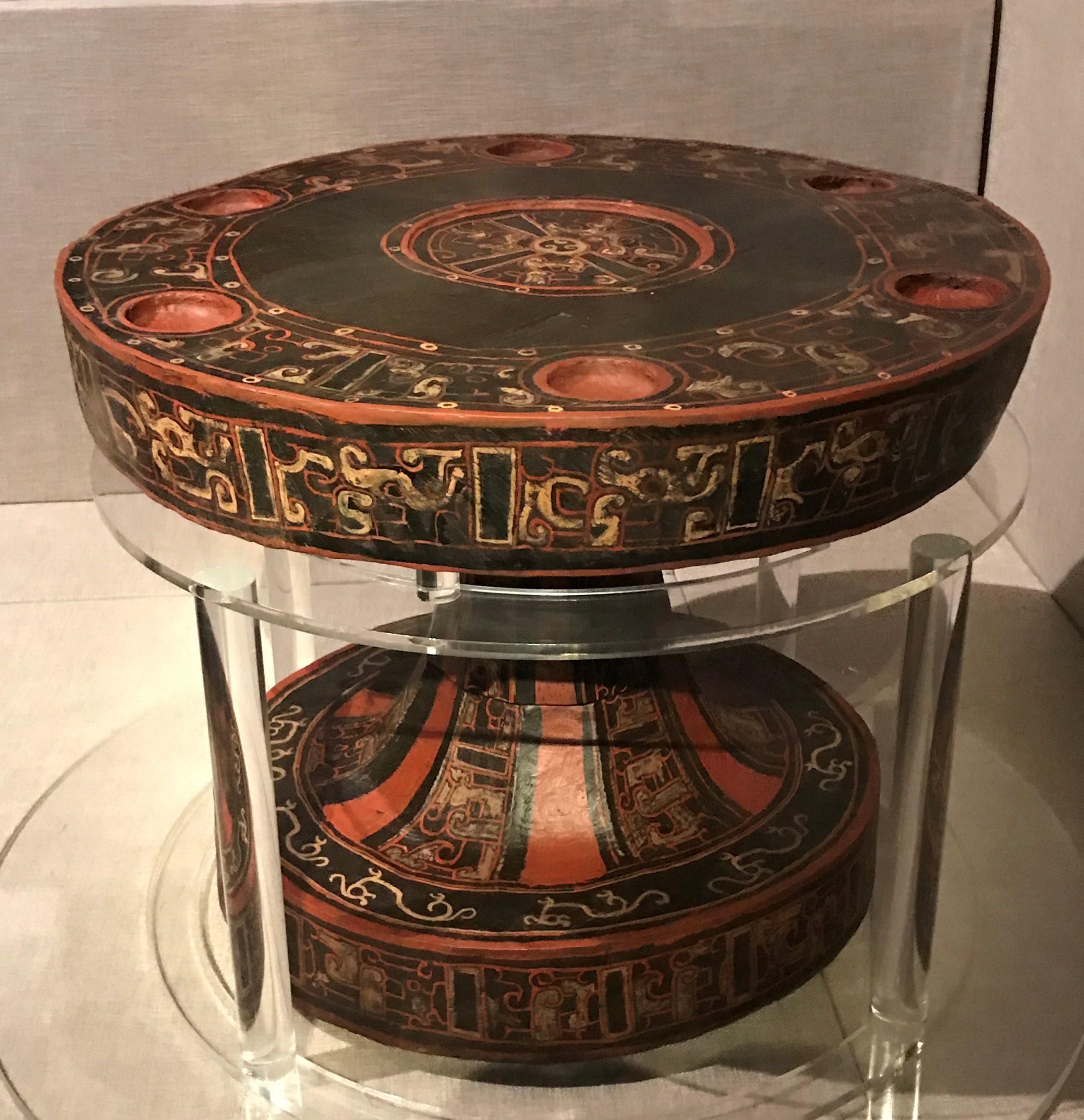 漆机-漆簋-漆虎形构件-漆豆-漆器座-漆禁-先秦時代-常設展F2-成都博物館