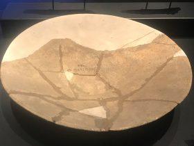 陶小平底盤-第三発掘調査区出土-総合館-三星堆博物館-広漢市-徳陽市-四川省