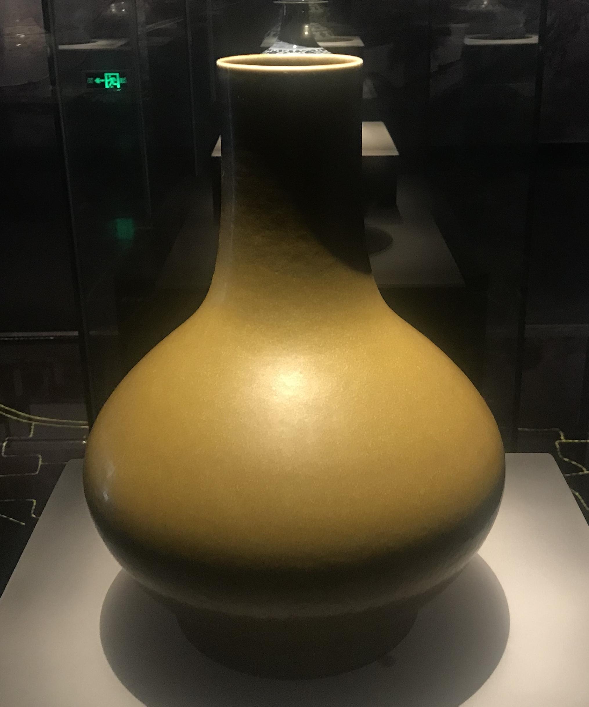 茶葉末釉磁荸薺瓶-明清時代-常設展F3-成都博物館