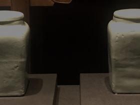 青白釉帯蓋磁罐-明清時代-常設展F3-成都博物館
