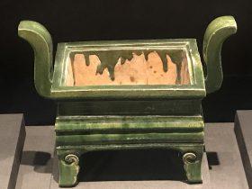 緑釉磁爐-明清時代-常設展F3-成都博物館