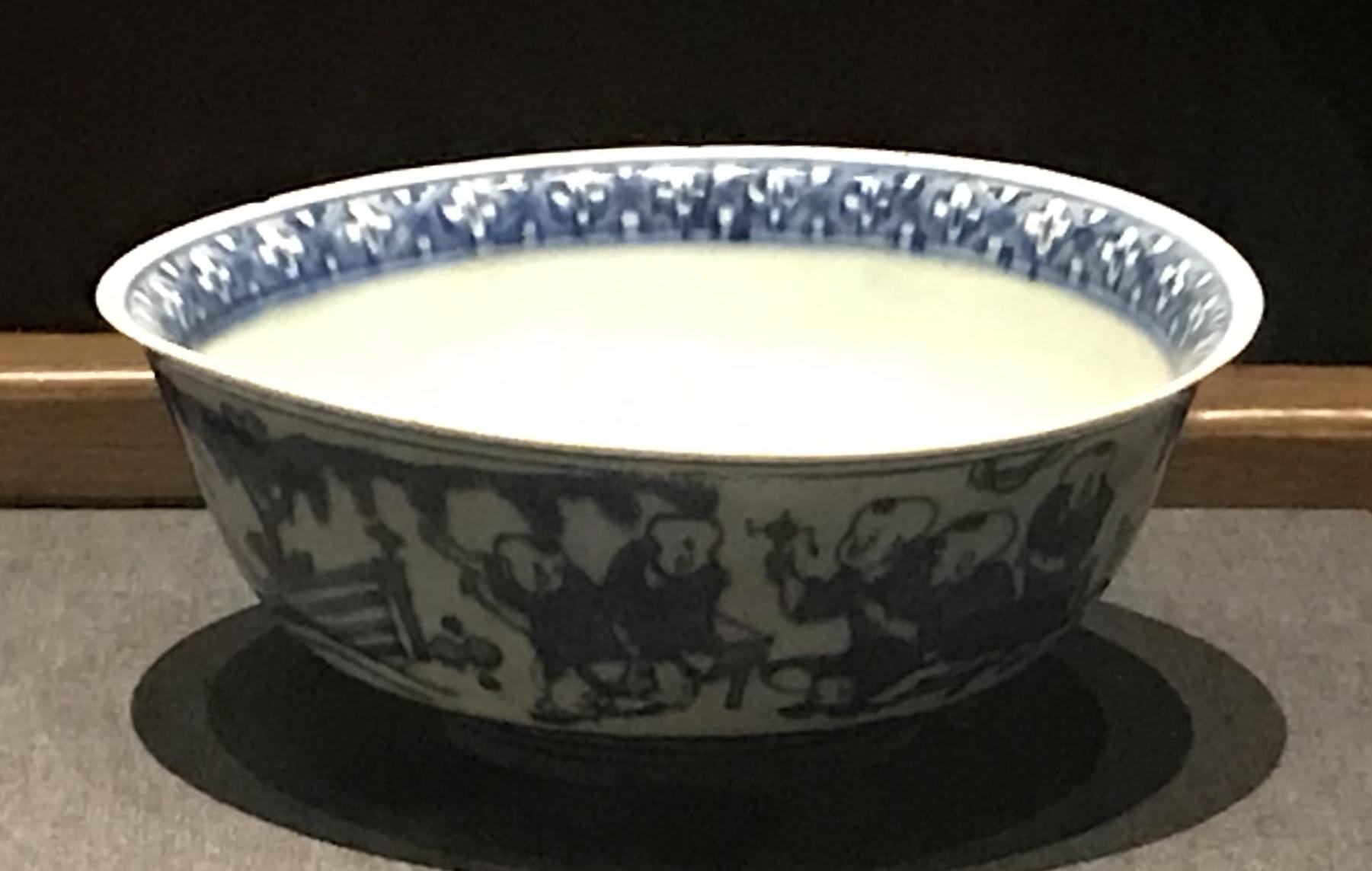 青花嬰戲図磁碗-明清時代-常設展F3-成都博物館