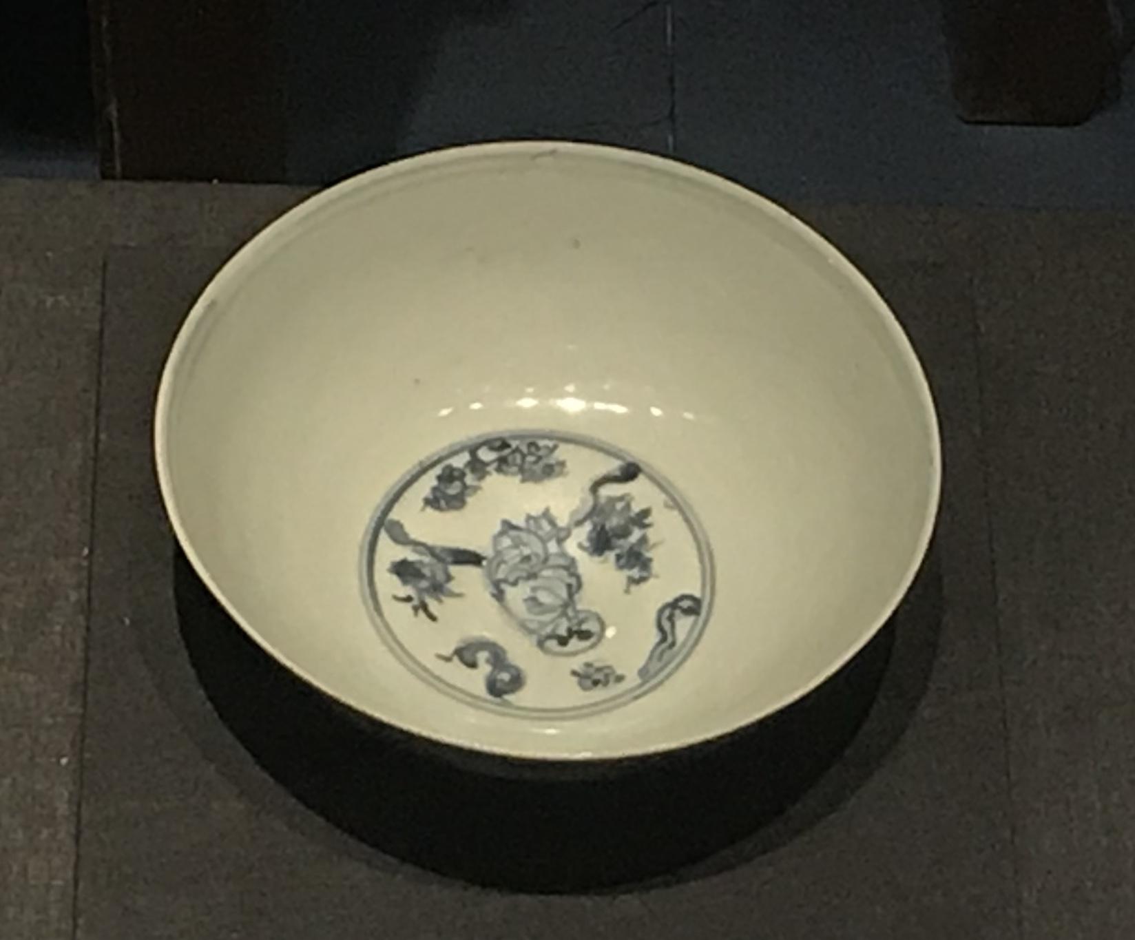 青花嬰戲図磁碗1-明清時代-常設展F3-成都博物館