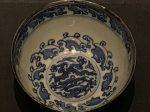 青花雲龍紋銀釦磁碗-明清時代-常設展F3-成都博物館