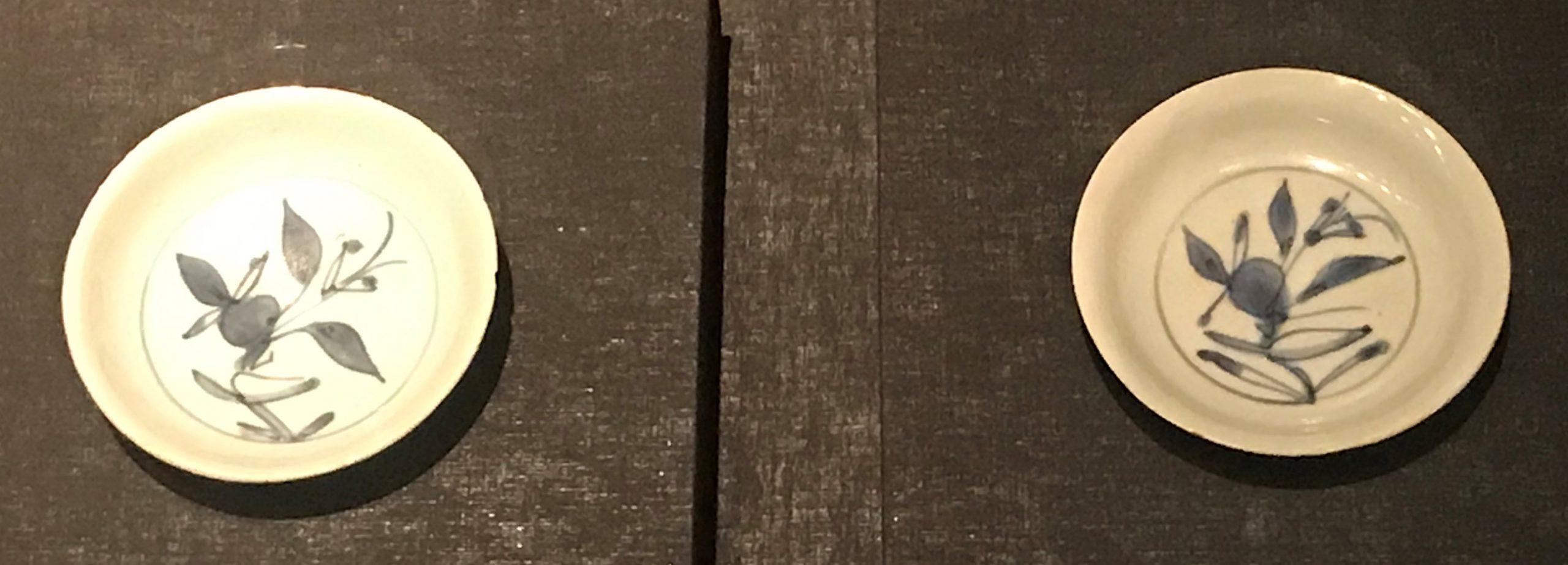 青花花葉紋磁碟-明清時代-常設展F3-成都博物館