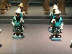 彩釉陶侍從俑1-明清時代-常設展F3-成都博物館