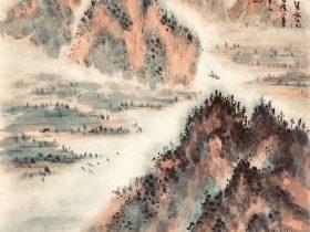 滕王閣序-唐代-王勃-書画:王英文-南山老人