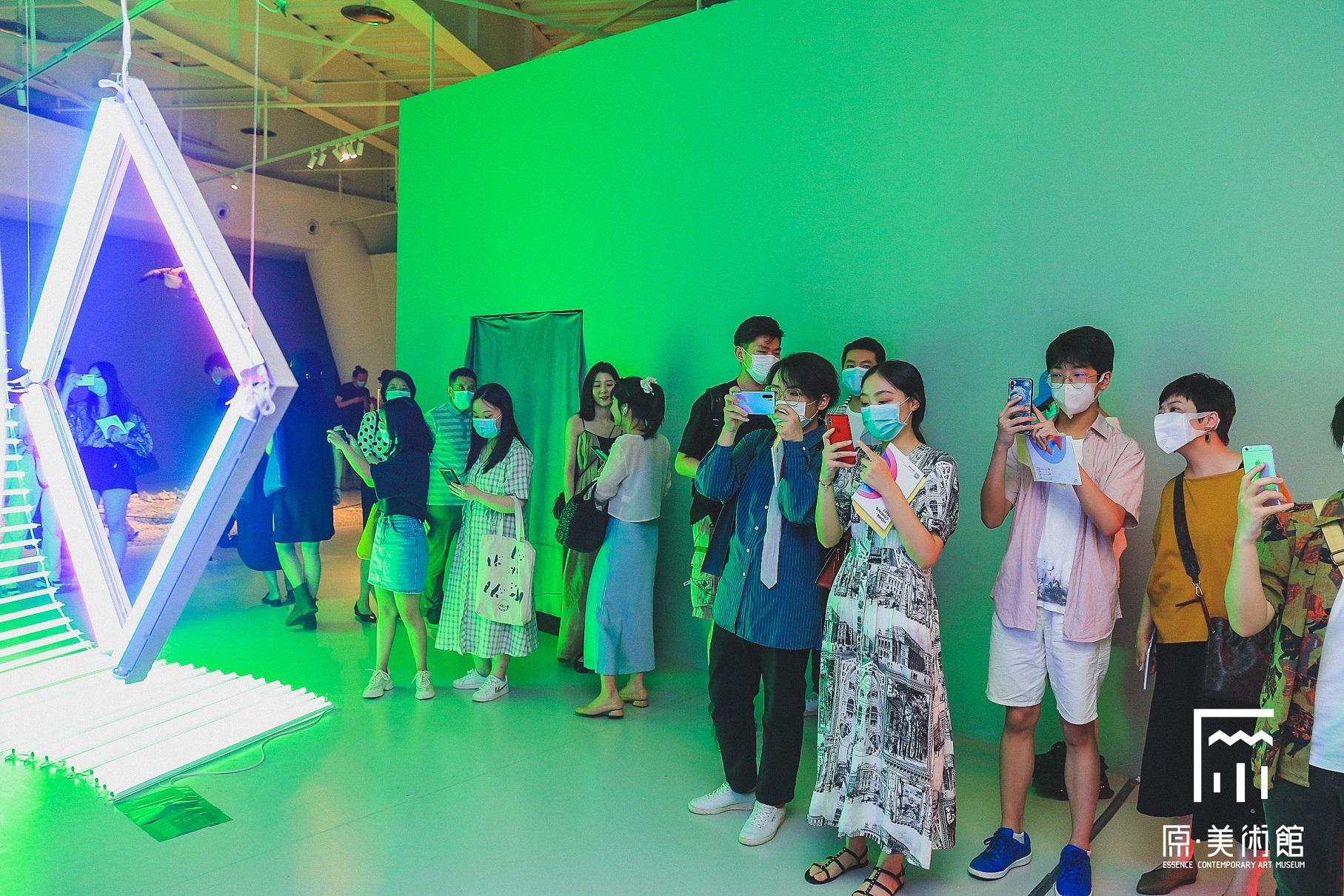 美術展【重逢島】-原・美術館-写真提供:徐子薇
