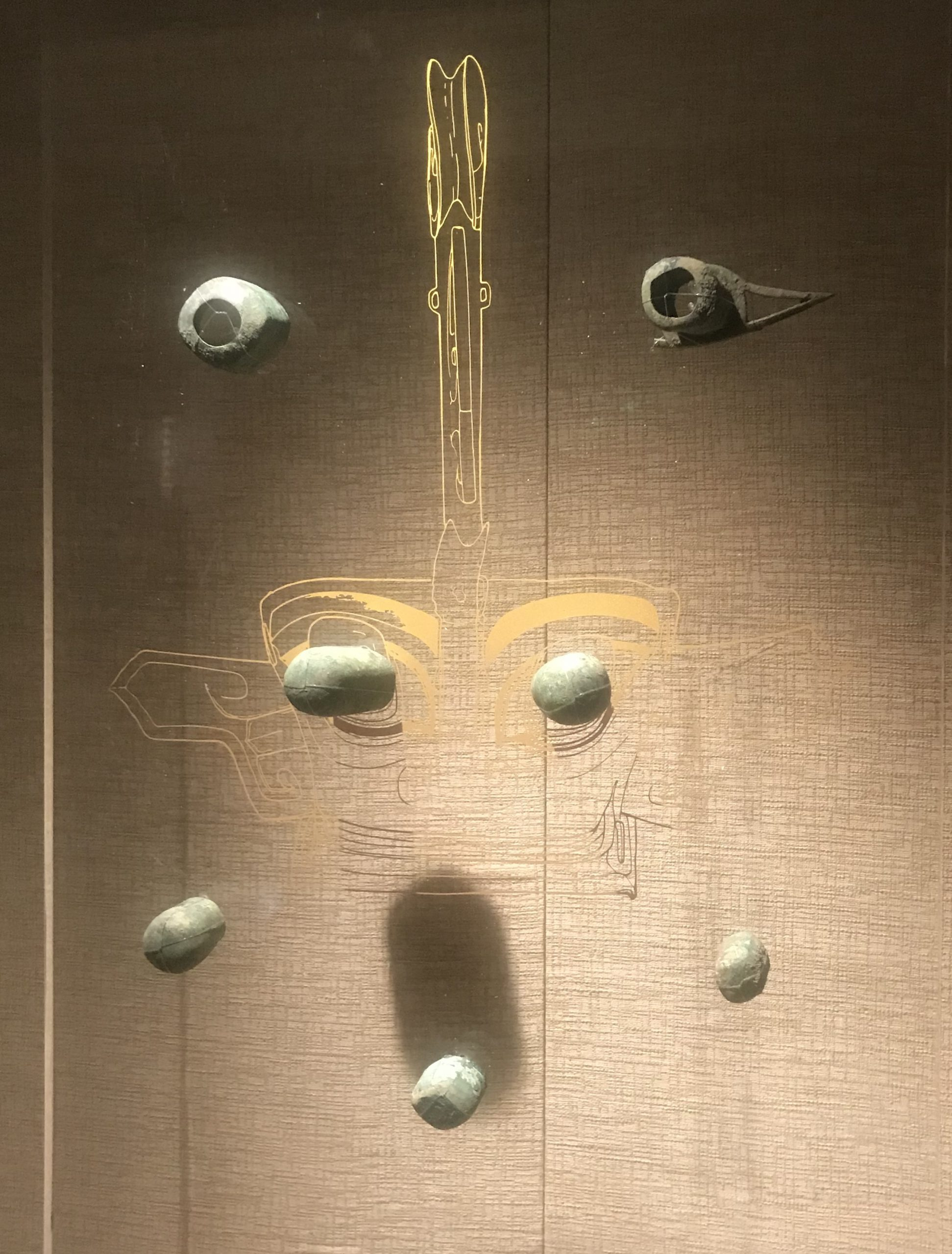 青銅眼泡-青銅器館-三星堆博物館-広漢市-徳陽市-四川省
