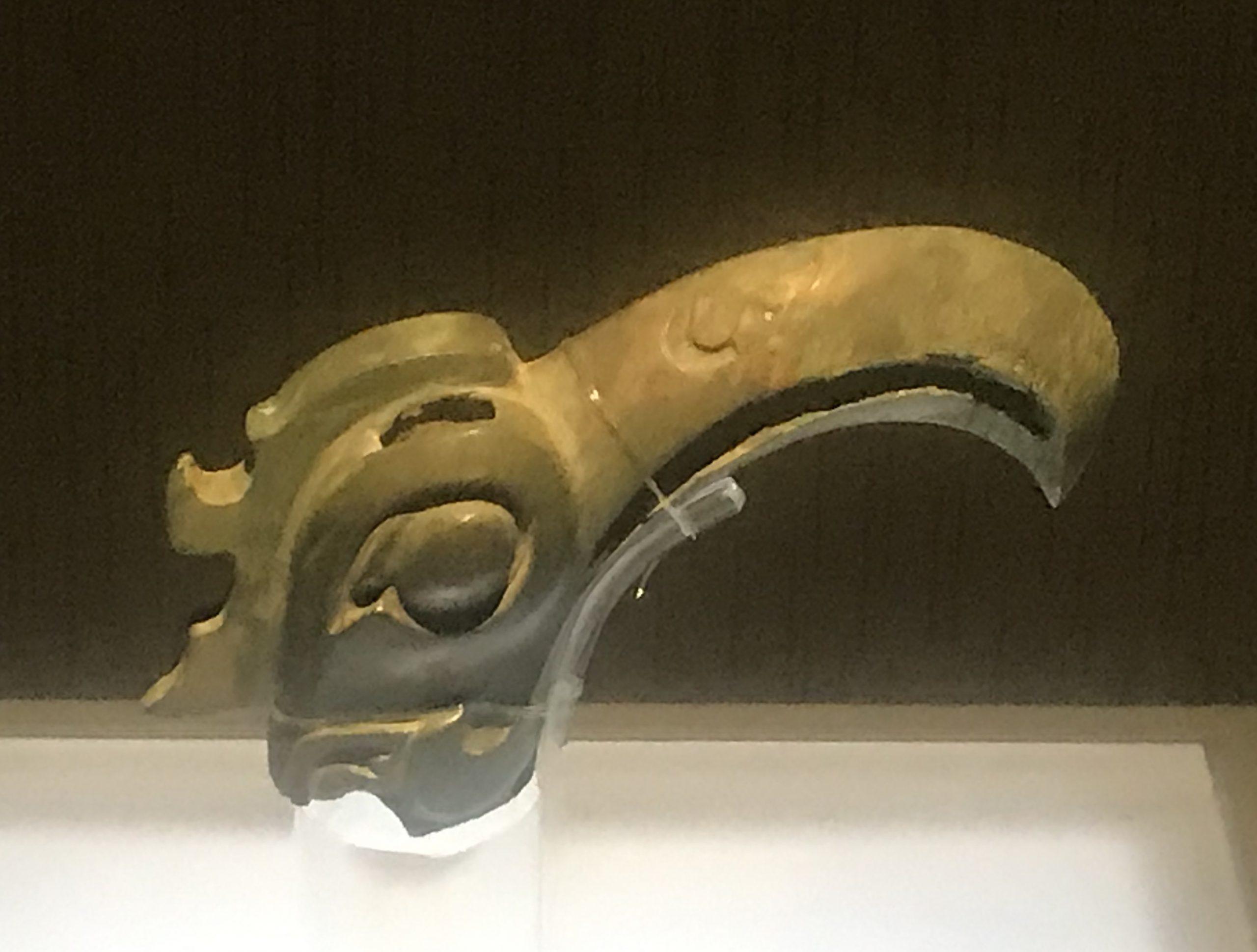 青銅鳥頭-青銅器館-三星堆博物館-広漢市-徳陽市-四川省