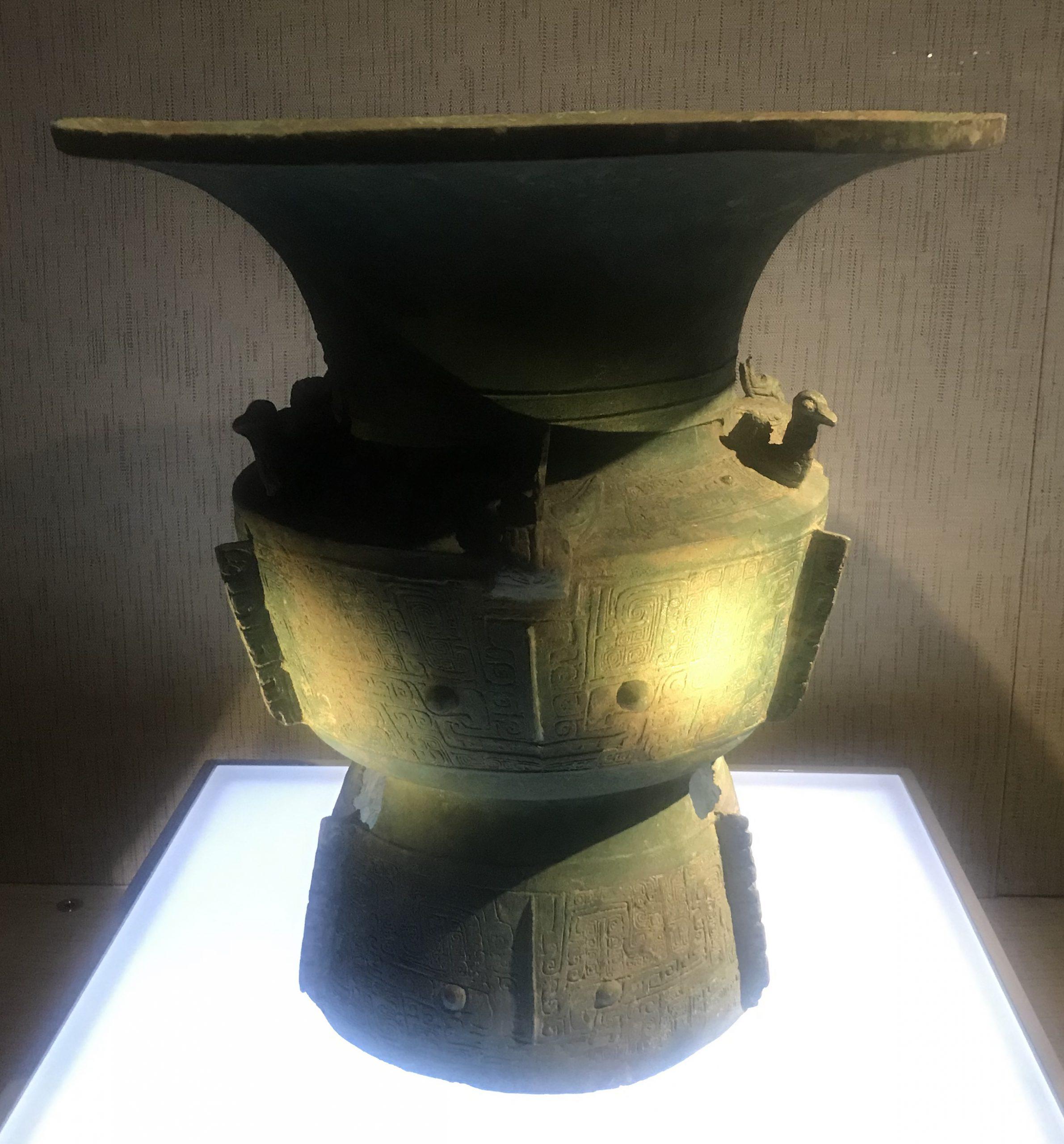 青銅尊セット-青銅器館-三星堆博物館-広漢市-徳陽市-四川省