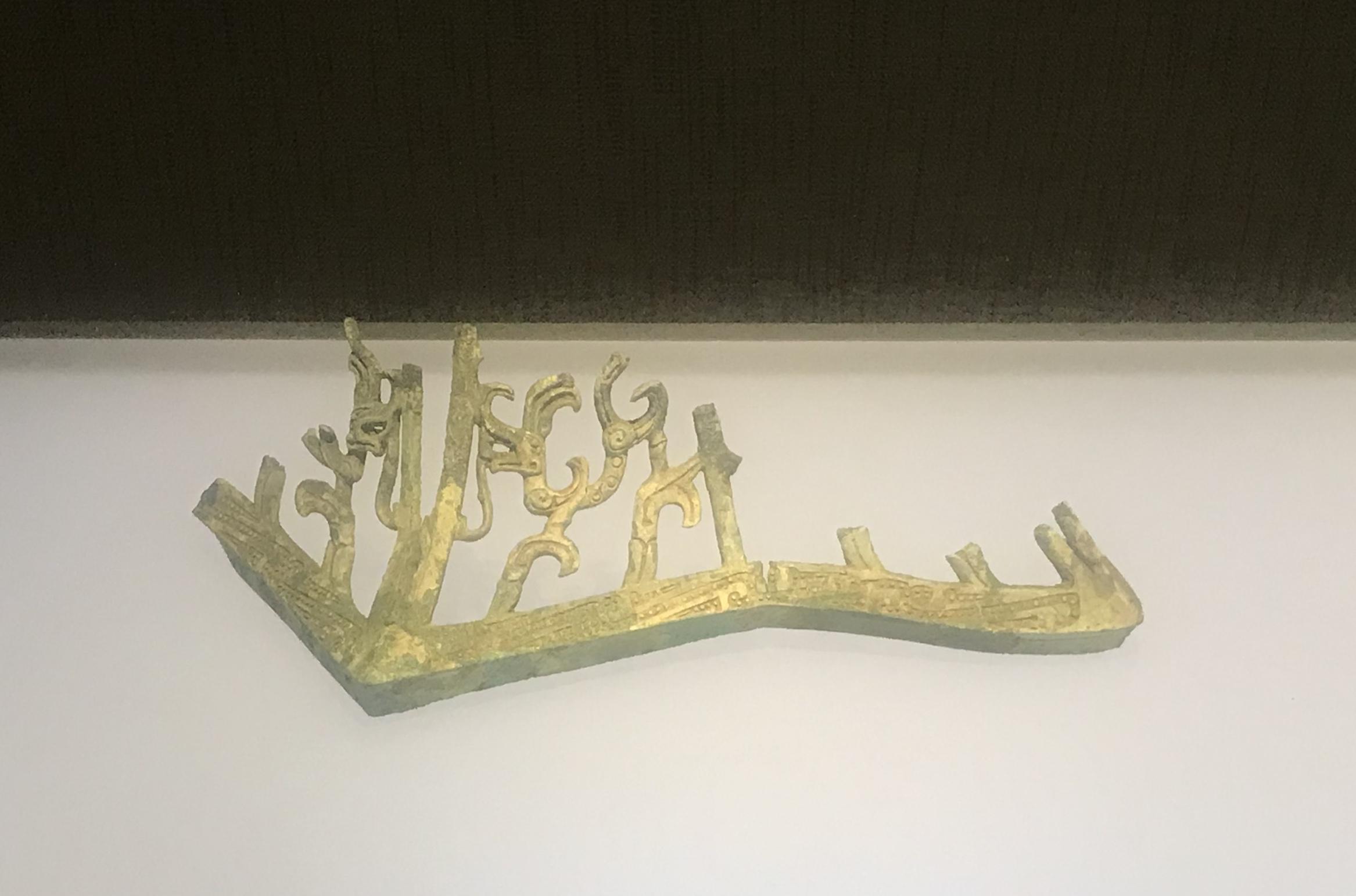 青銅神殿(残件)-青銅器館-三星堆博物館-広漢市-徳陽市-四川省