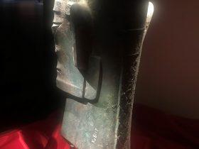 青銅人頭像14-青銅器館-三星堆博物館-広漢市-徳陽市-四川省