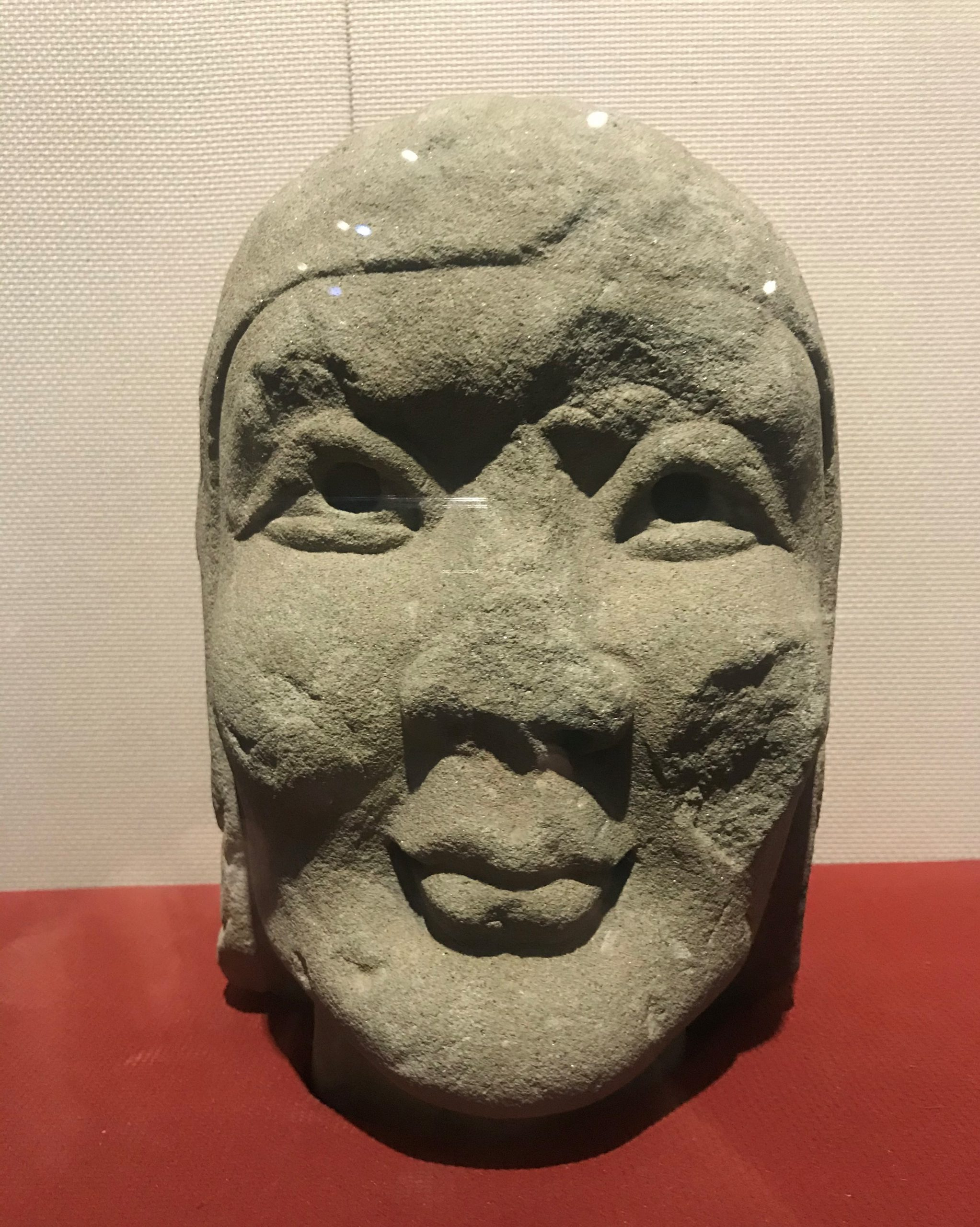 弟子頭像-唐期末・五代-四川万仏寺石刻館-四川博物院-成都