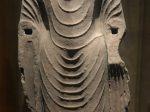 アショーカ立像3-南朝・梁-万仏寺遺跡-四川万仏寺石刻館-四川博物院-成都