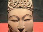 菩薩頭像4-唐代-万仏寺遺跡-四川万仏寺石刻館-四川博物院-成都