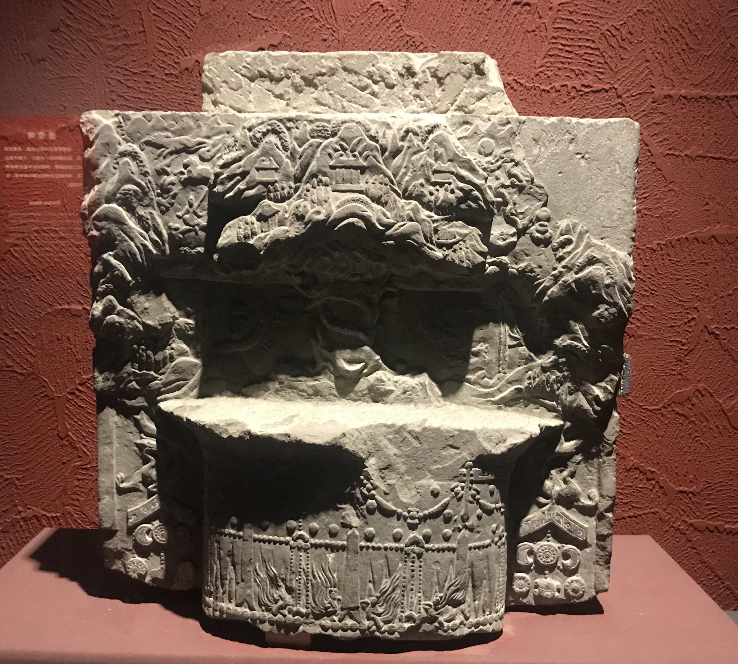 造像碑1-南朝-万仏寺遺跡-四川万仏寺石刻館-四川博物院-成都