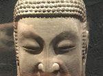 仏頭像2-南朝・梁-普通六年-万仏寺遺跡-四川万仏寺石刻館-四川博物院-成都