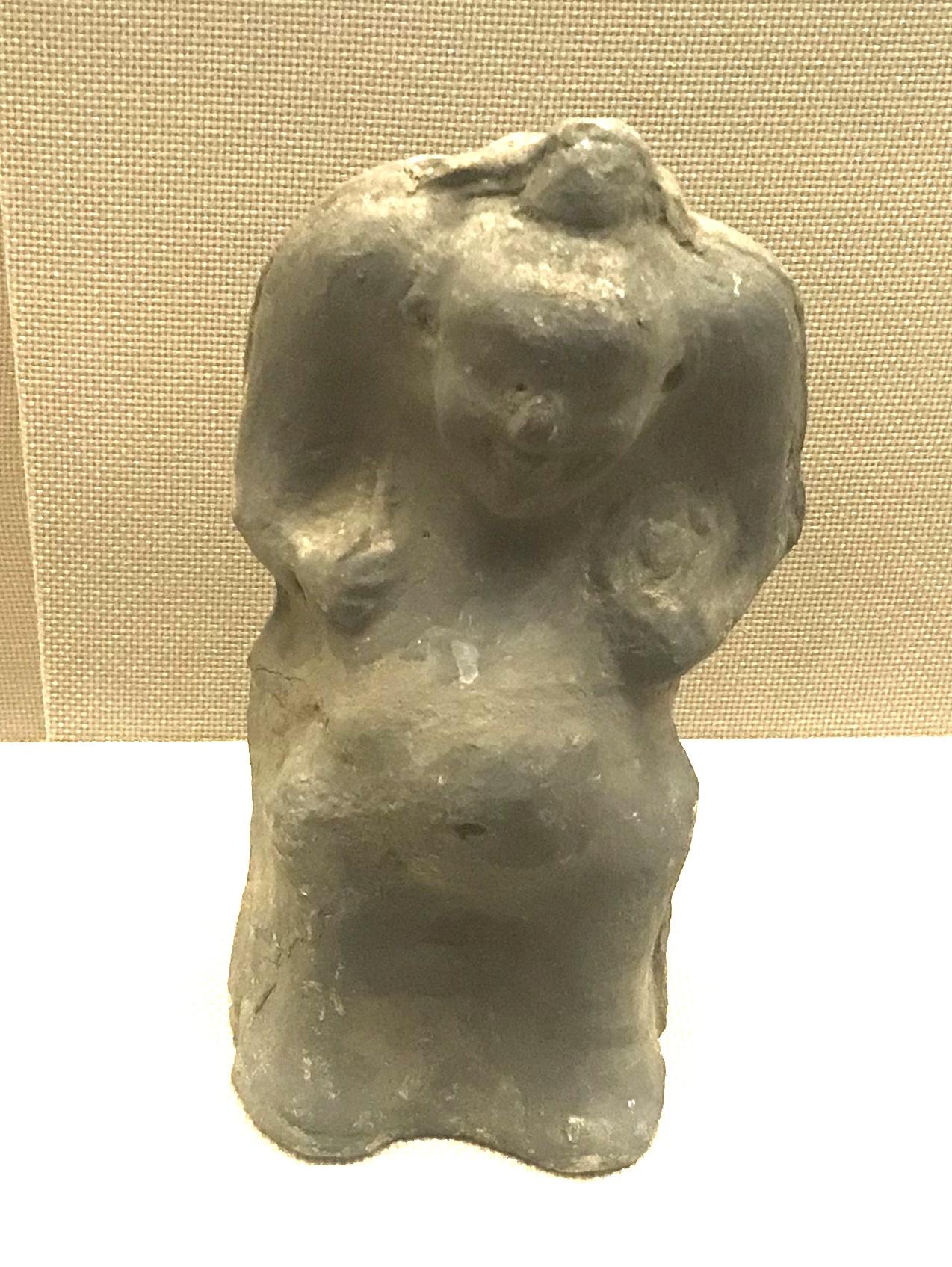 陶説唱俑3-東漢-四川漢代陶石芸術館-四川博物院-成都