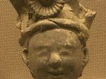 陶俑頭7-東漢-宜賓市中元紙工場出土-四川漢代陶石芸術館-四川博物院-成都