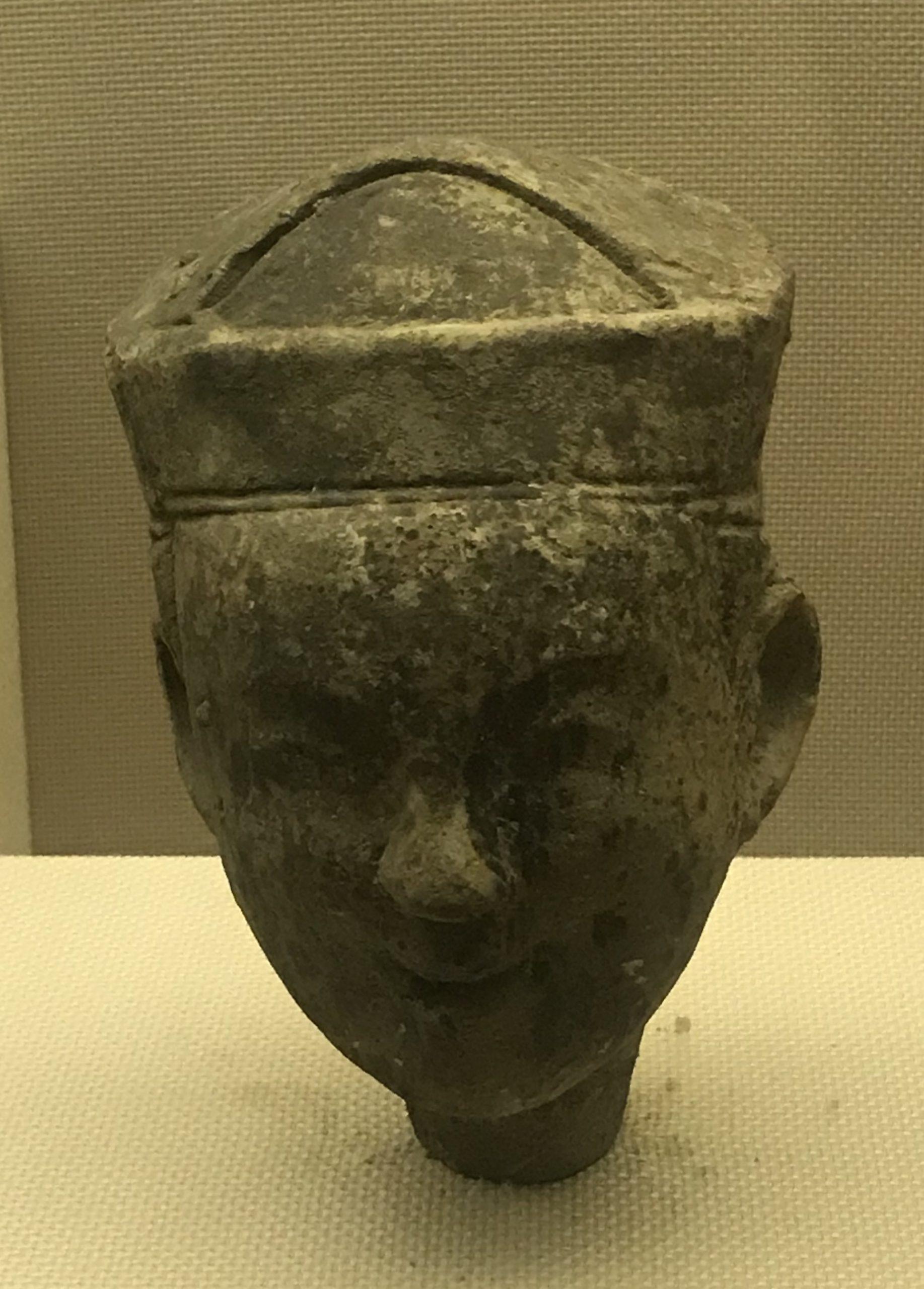 陶俑頭8-東漢-四川漢代陶石芸術館-四川博物院-成都