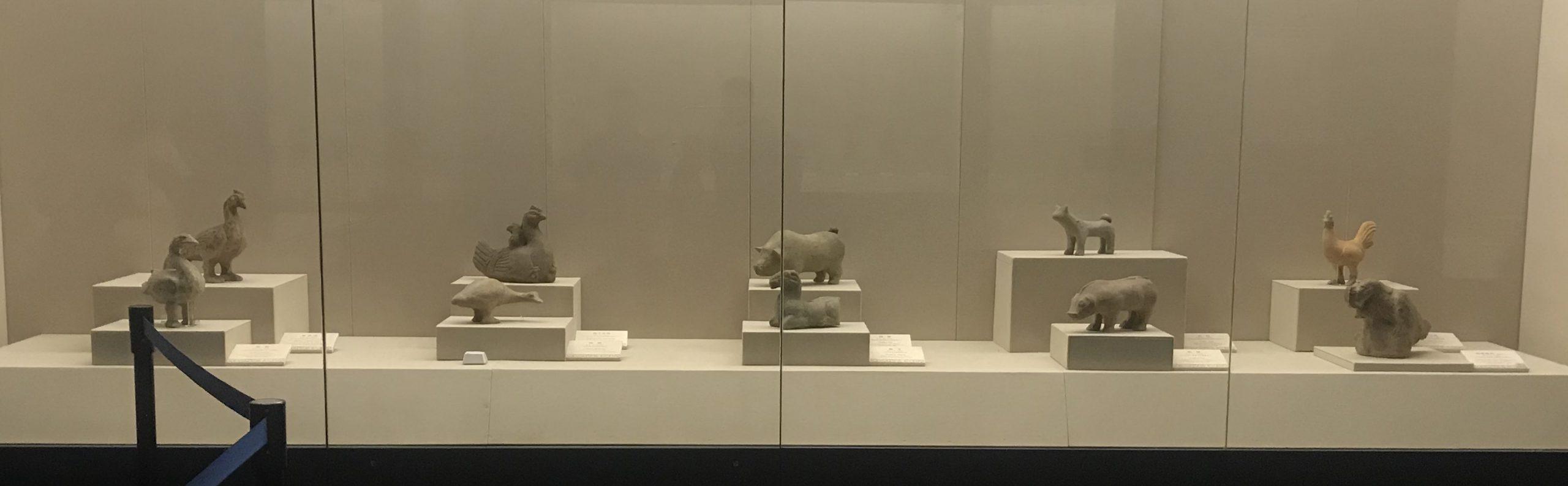 陶アヒル-東漢-成都市羊子山漢墓出土-四川漢代陶石芸術館-四川博物院-成都