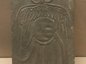 月神2画像レンガ-東漢-成都市新都区新繁殖出土-四川漢代陶石芸術館-四川博物院-成都