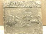駋車騎従画像レンガ-東漢-成都市新都区新繁出土-四川漢代陶石芸術館-四川博物院-成都