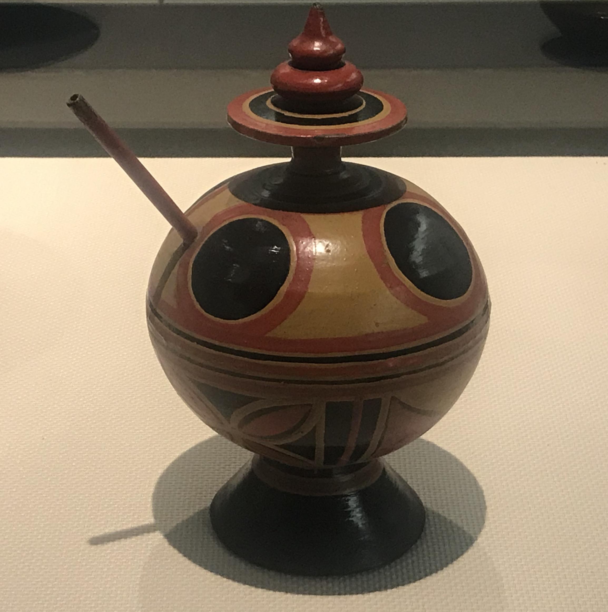 食器-彜族漆器-四川民族文物館-四川博物館-成都