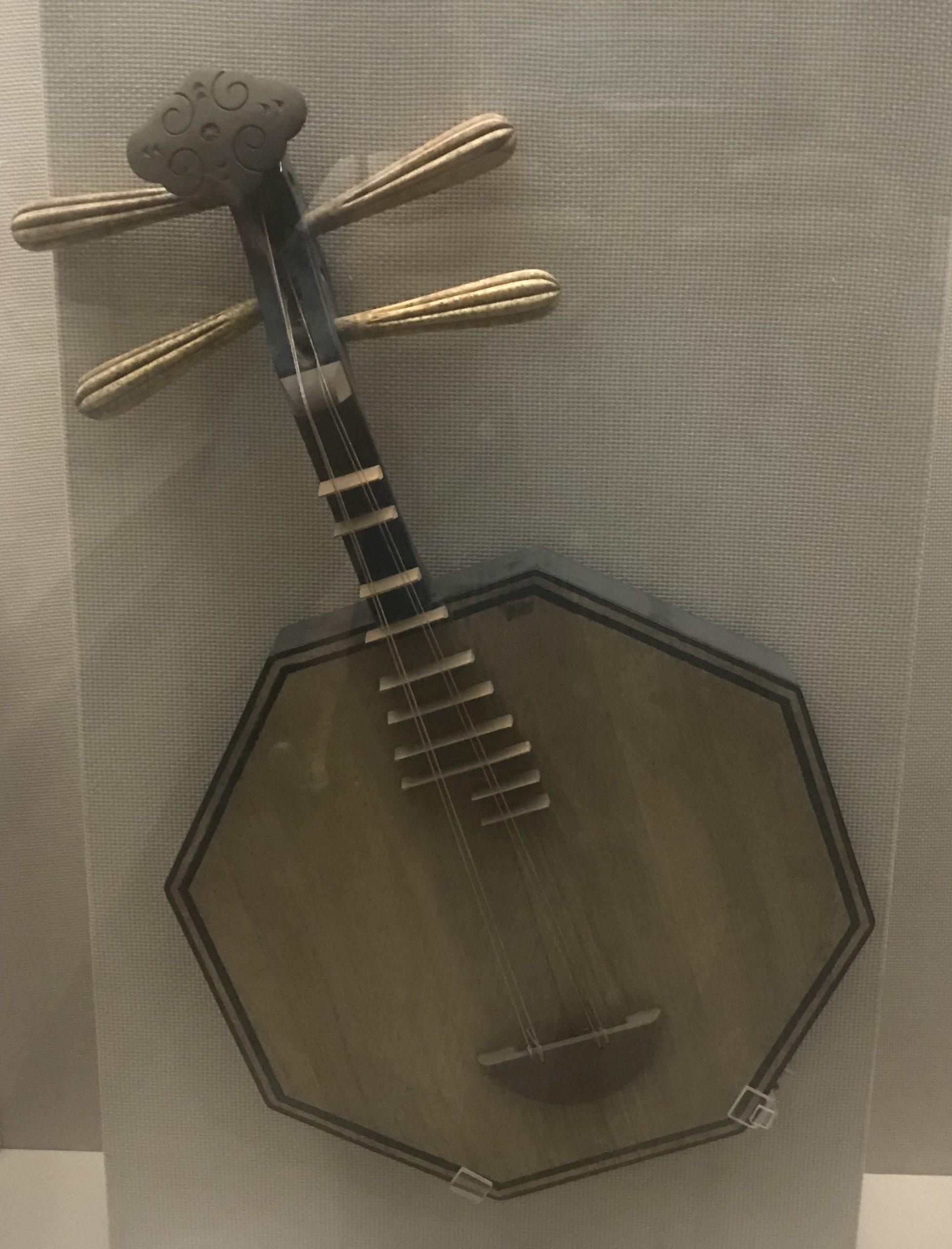木月琴-彜族楽器-四川民族文物館-四川博物館-成都