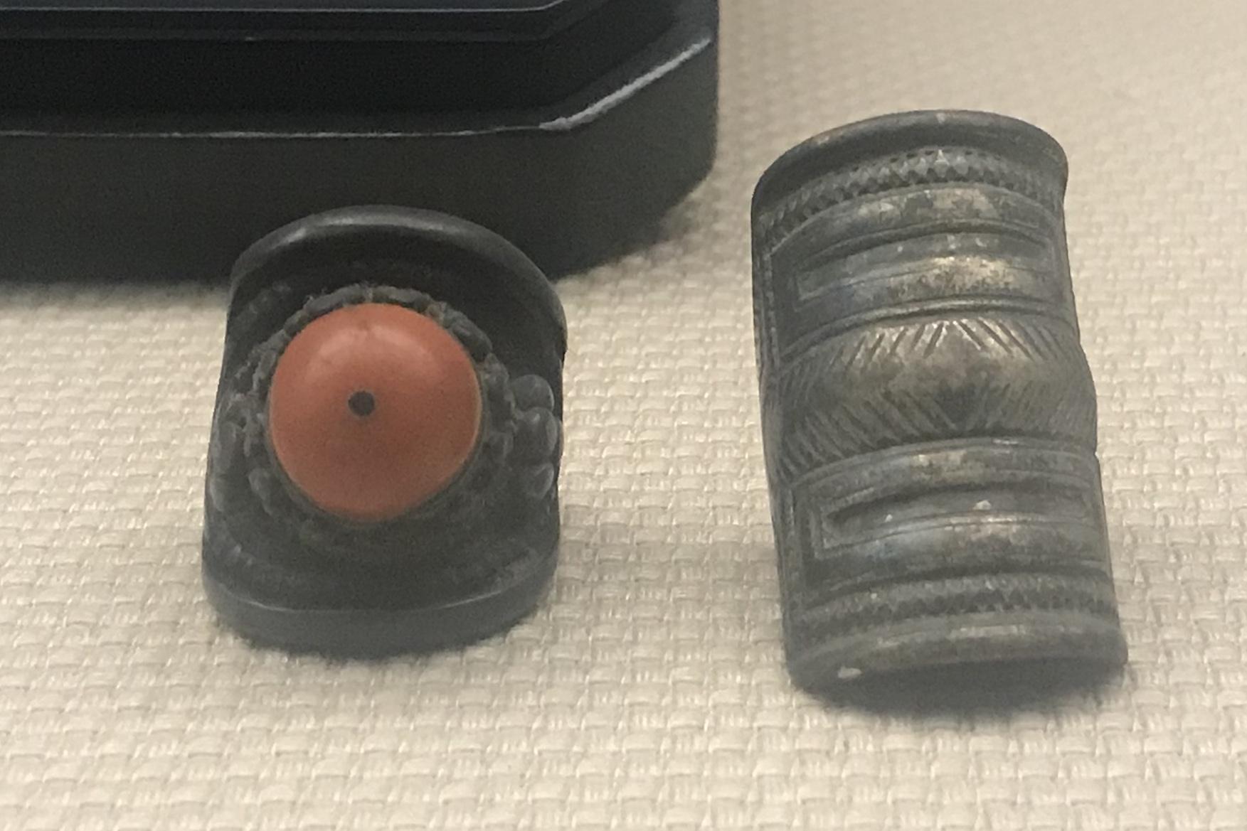 銀イアリング-銀指輪-チャン族アクセサリー-四川民族文物館-四川博物館-成都