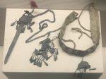 頭飾り-ネック帯-チャン族アクセサリー-四川民族文物館-四川博物館-成都