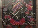 鳳穿牡丹織錦-土家族-四川民族文物館-四川博物館-成都
