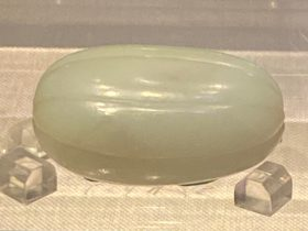 白玉鼻煙瓶-清時代-工藝美術館-四川博物館-成都