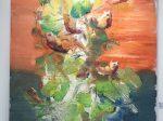 出展画家:羅玉其-【2020域上和美-夏の芸術招待展】-シーシュポスの岩-成都