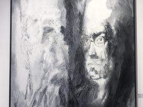 出展画家:徐澤-【2020域上和美-夏の芸術招待展】-シーシュポスの岩-成都
