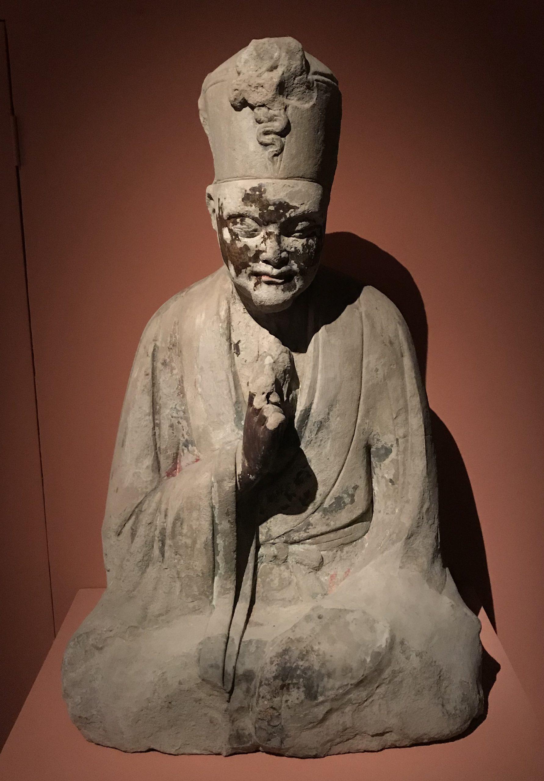 柳本尊像-南宋-天下の大足-大足石刻の発見と継承-金沙遺跡博物館-成都