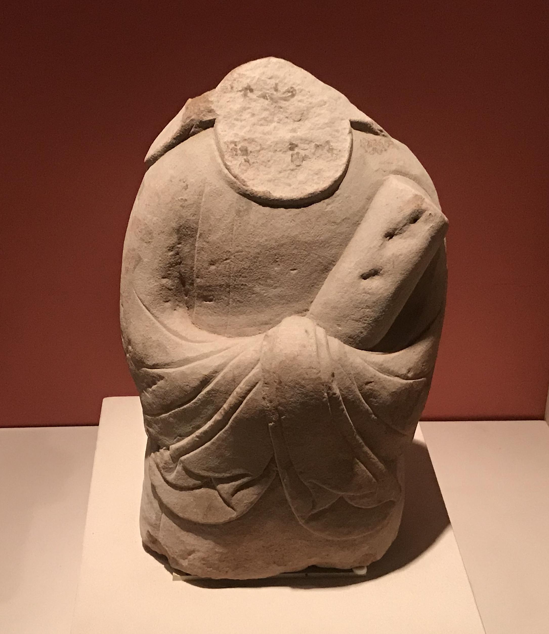 侍者残像-北宋-天下の大足-大足石刻の発見と継承-金沙遺跡博物館-成都