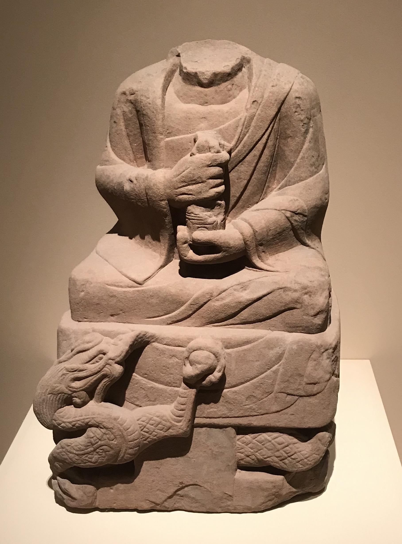 羅漢残像7-北宋-天下の大足-大足石刻の発見と継承-金沙遺跡博物館-成都