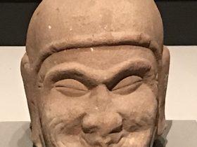 羅漢頭像-宋-天下の大足-大足石刻の発見と継承-金沙遺跡博物館-成都