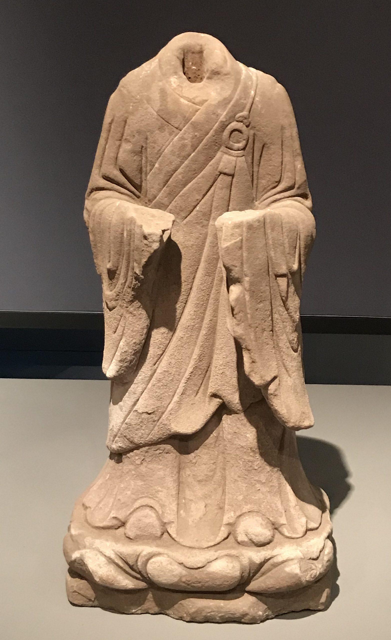 弟子残像-清時代-天下の大足-大足石刻の発見と継承-金沙遺跡博物館-成都