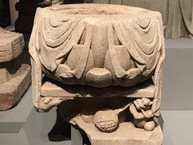 蓮座-宋-天下の大足-大足石刻の発見と継承-金沙遺跡博物館-成都