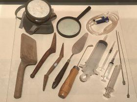 千手観音修復工具-天下の大足-大足石刻の発見と継承-金沙遺跡博物館-成都