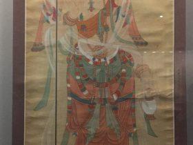 臨摹盛唐大士像図軸-張大千芸術館-四川博物院-成都