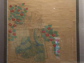 臨摹唐高僧像図軸-張大千芸術館-四川博物院-成都