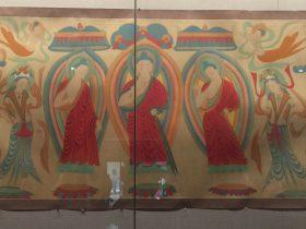 臨摹北魏三世仏図軸-張大千芸術館-四川博物院-成都