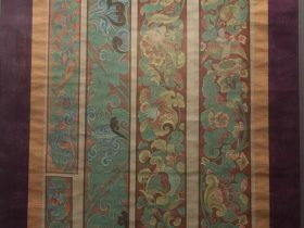 臨摹図案花辺図軸-張大千芸術館-四川博物院-成都