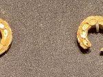 嵌珠金耳環-唐時代-巡回特別展【天歌長歌-唐蕃古道】-四川博物館