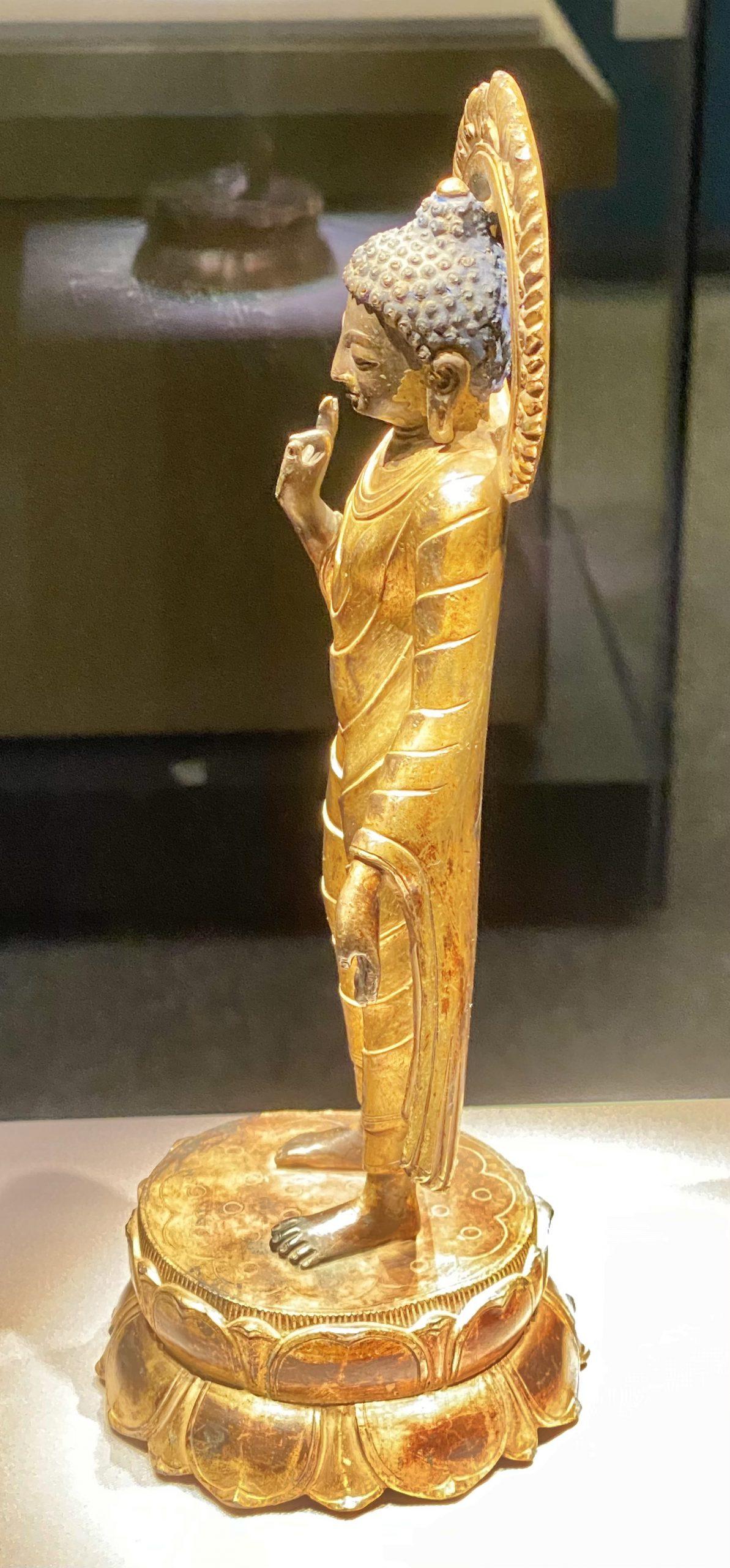 釋迦牟尼立像-明末清初-巡回特別展【天歌長歌-唐蕃古道】-四川博物館