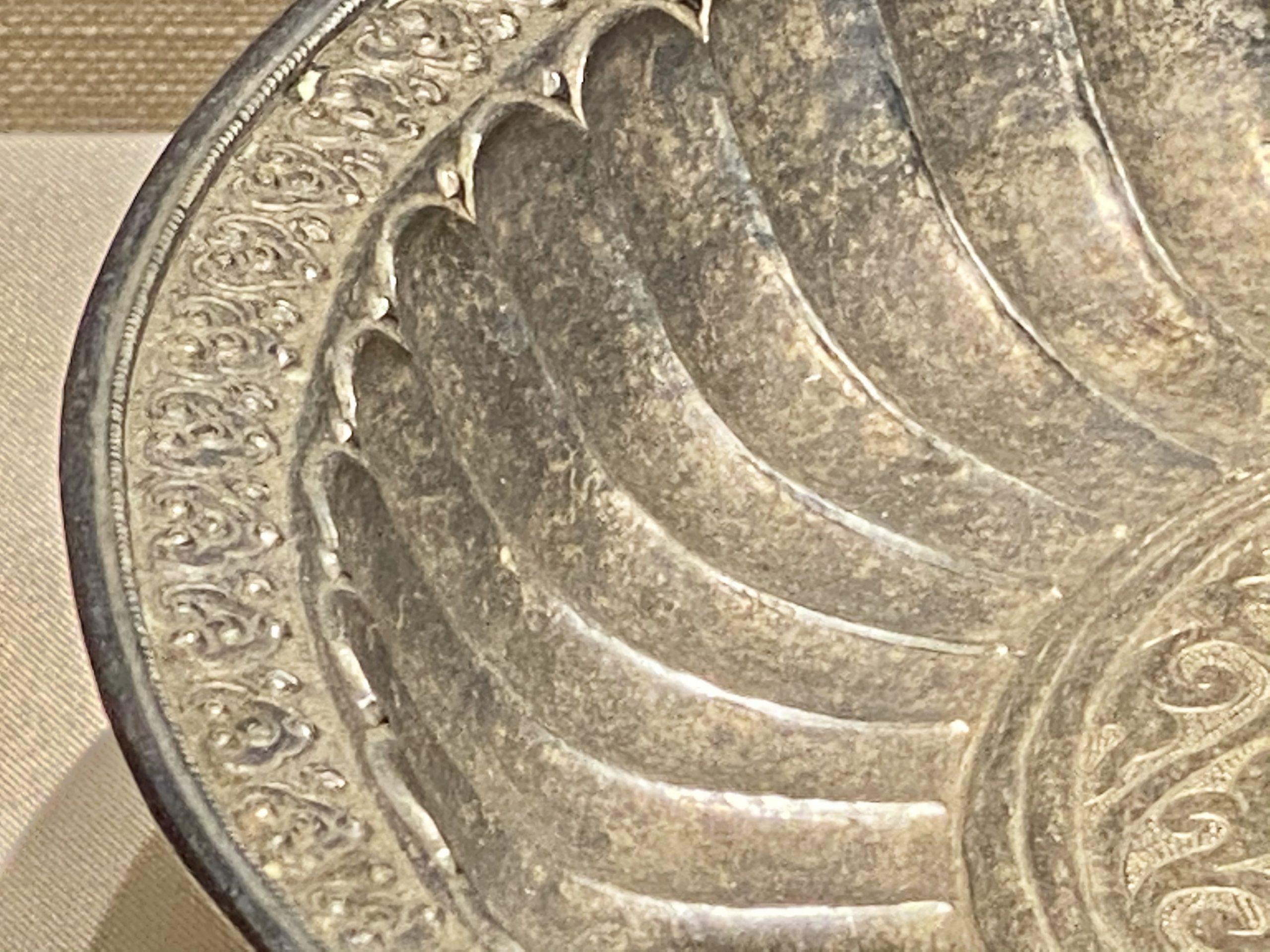 銀供盤-現代-巡回特別展【天歌長歌-唐蕃古道】-四川博物館
